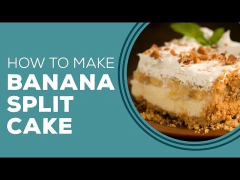 Banana Split Cake - Blast from the Past