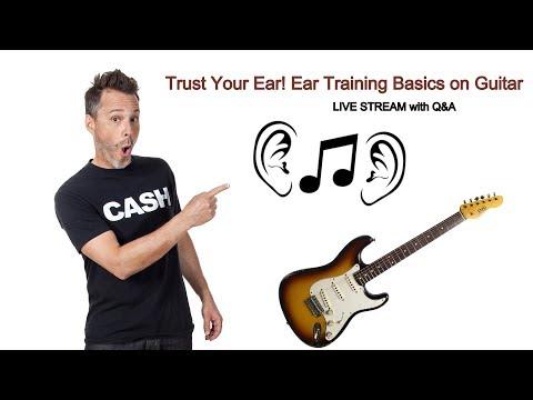 Trust Your Ear! Ear Training Basics to Help You Play by Ear on Guitar
