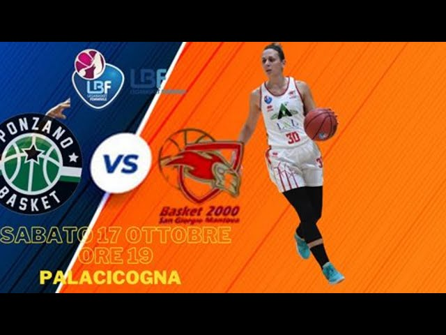 Schiavon Ponzano - Basket 2000 San Giorgio MantovAgricoltura