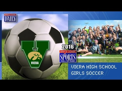 Viera High School Girls Soccer Space Coast Sports Hall of Fame 2016