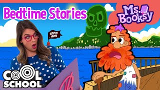 TREASURE ISLAND Part 2: The Sea Captain Gets Captured by Pirates!!  Ms. Booksy Bedtime Stories