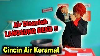 CINCIN AIR KERAMAT !! ~ #MagicChallenge Ft. #ILMUMERAH