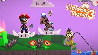 SACKBOY IN MARIO WORLD | LittleBIGPlanet 3 Gameplay