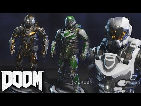 DOOM - All Outfits/Armor/Skins (Customization) SHOWCASE