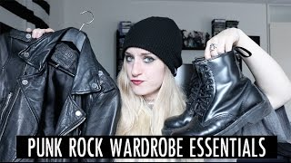 Punk Rock Wardrobe Essentials! | Rocknroller