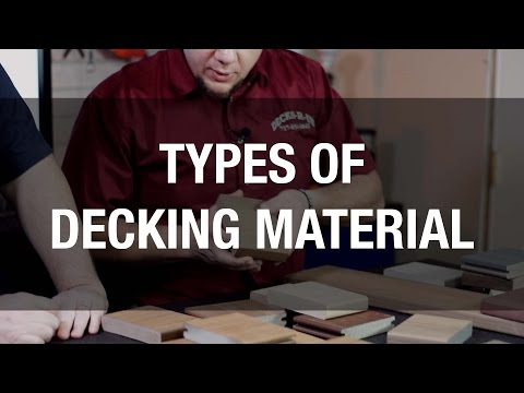 The Latest Deck Materials