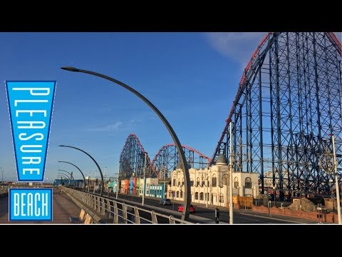 Blackpool Pleasure Beach Vlog March 2018