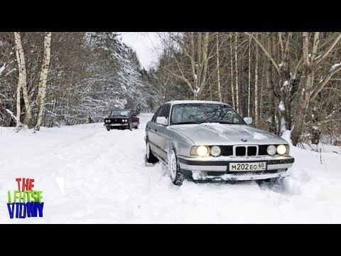 ВАЗ 2106 VS BMW E34 / ЗАСТРЯЛИ ОДНИ В ЛЕСУ - ВЛОГ