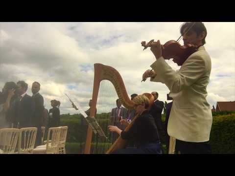 Violin & Harp Canon in D and Wedding March