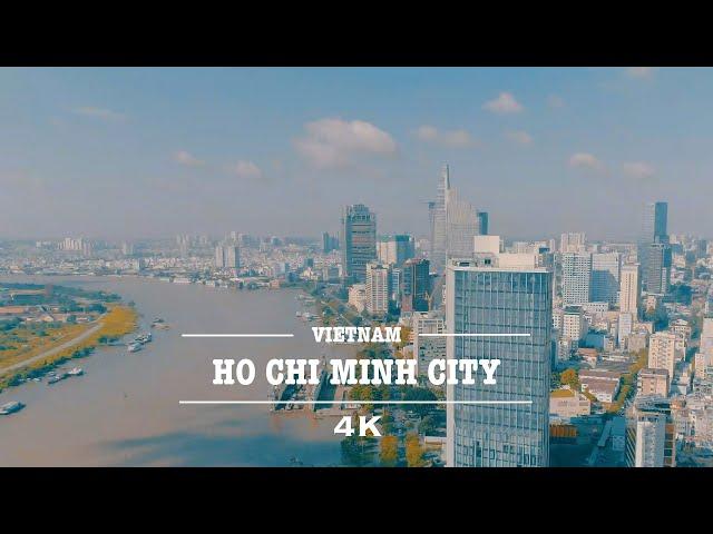Ho Chi Minh City, Vietnam - By Drone [4K]