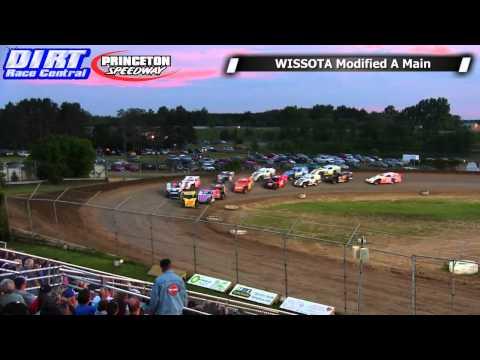 Princeton Speedway 7/4/14 WISSOTA Modified Races