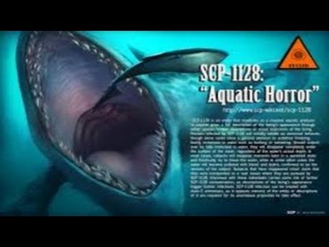 SCP-1128 Aquatic Horror | Object Class Euclid
