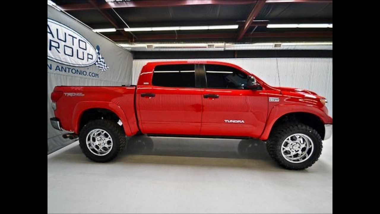 2009 Toyota Tundra Crew Max Sr5 Trd Lifted Truck For Sale