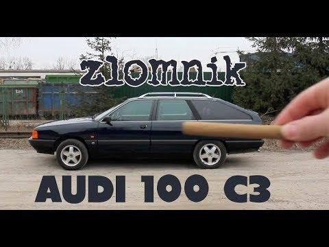"""Złomnik: Audi 100 C3 """"Cygaro"""" [nalepki ZAWSZEGRATEM]"""