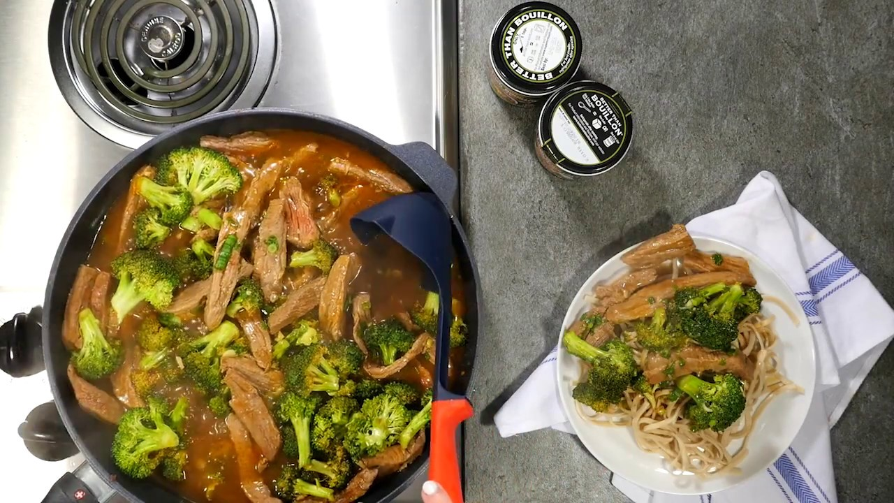 Spicy Beef & Broccoli  - BetterThanBouillon.com