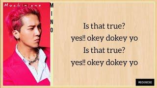 Mino -Okey Dokey- (feat Zico) EASY LYRICS
