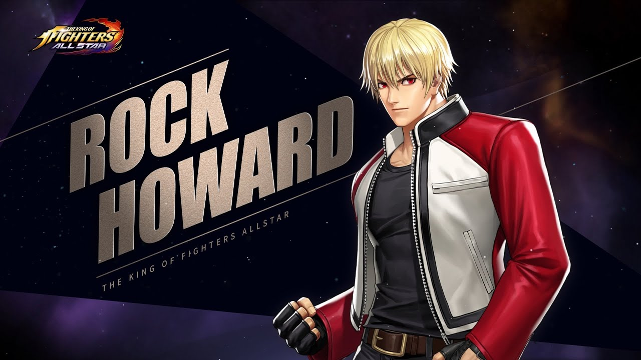 The King Of Fighters All Stars Rock Howard Jcr Comic Arts Rock howard in a main line kof game. king of fighters all stars rock howard