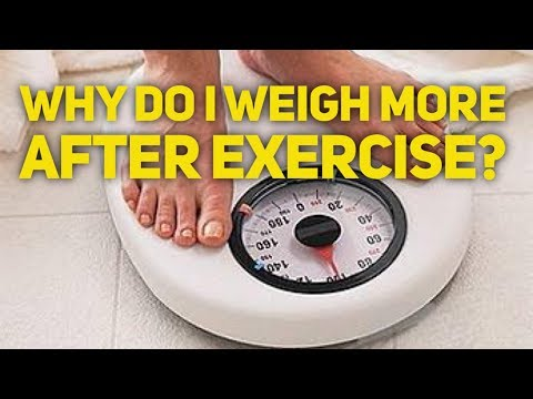#6 Why do I weigh more after exercise?