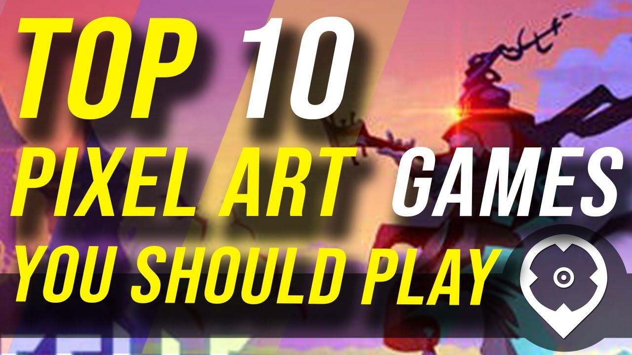 Top 10 Pixel Art Games You Should Play Allkeyshopcom