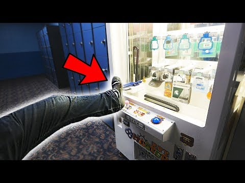 WON FROM KEYMASTER WITH MY FOOT... || Arcade Games
