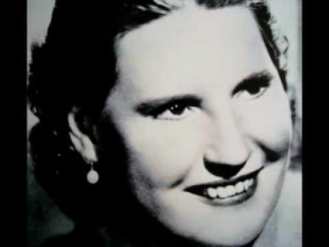 Kirsten Flagstad Brahms Op. 91 nr. 1, Gestillte Sehnsucht