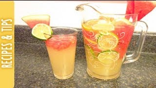 Watermelon Lemonade... So Delicious! #pinterestsummer2013