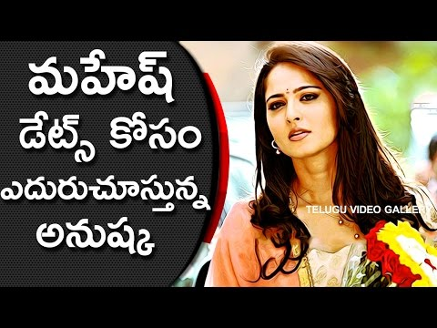 Anushka Waiting For Mahesh Babu SPYDER Release || Telugu Video Gallery