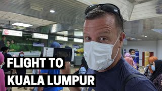 PANDEMIC TRAVEL DAY IN MALAYSIA | Seaventures Dive Rig Semporna to Kuala Lumpur