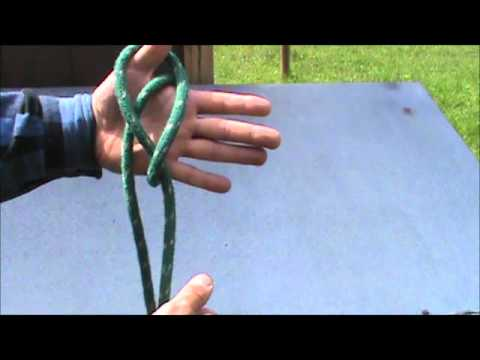 How to tie a Lanyard knot or the Diamond knot.
