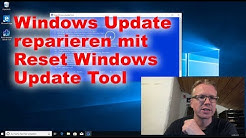 Windows Update reparieren mit Reset Windows Update Tool
