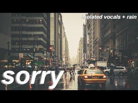 halsey - sorry (isolated vocals + rain)
