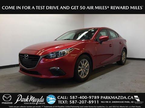 RED 2014 Mazda Mazda3 GS-SKY Review Sherwood Park Alberta - Park Mazda