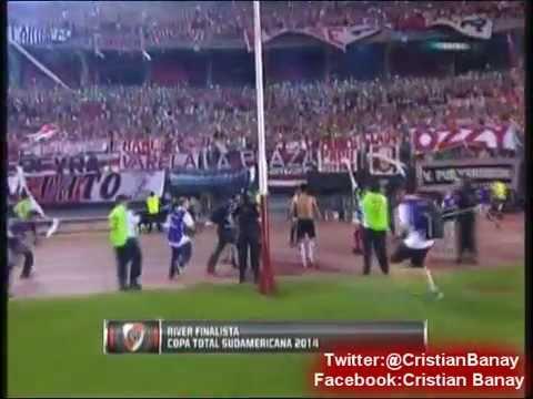 (Emocionante) River 1 Boca 0 (Relato Costa Febre-Pavoni) Copa Sudamericana 2014