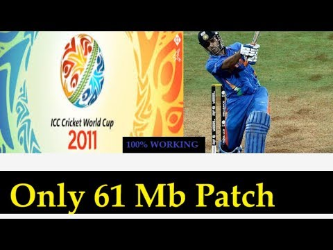 How to Download and Install WORLD CUP 2011 Patch for Cricket 07