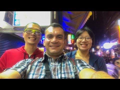SANXIA AND THE WATERFALL / TAIWAN ON FOOT #2