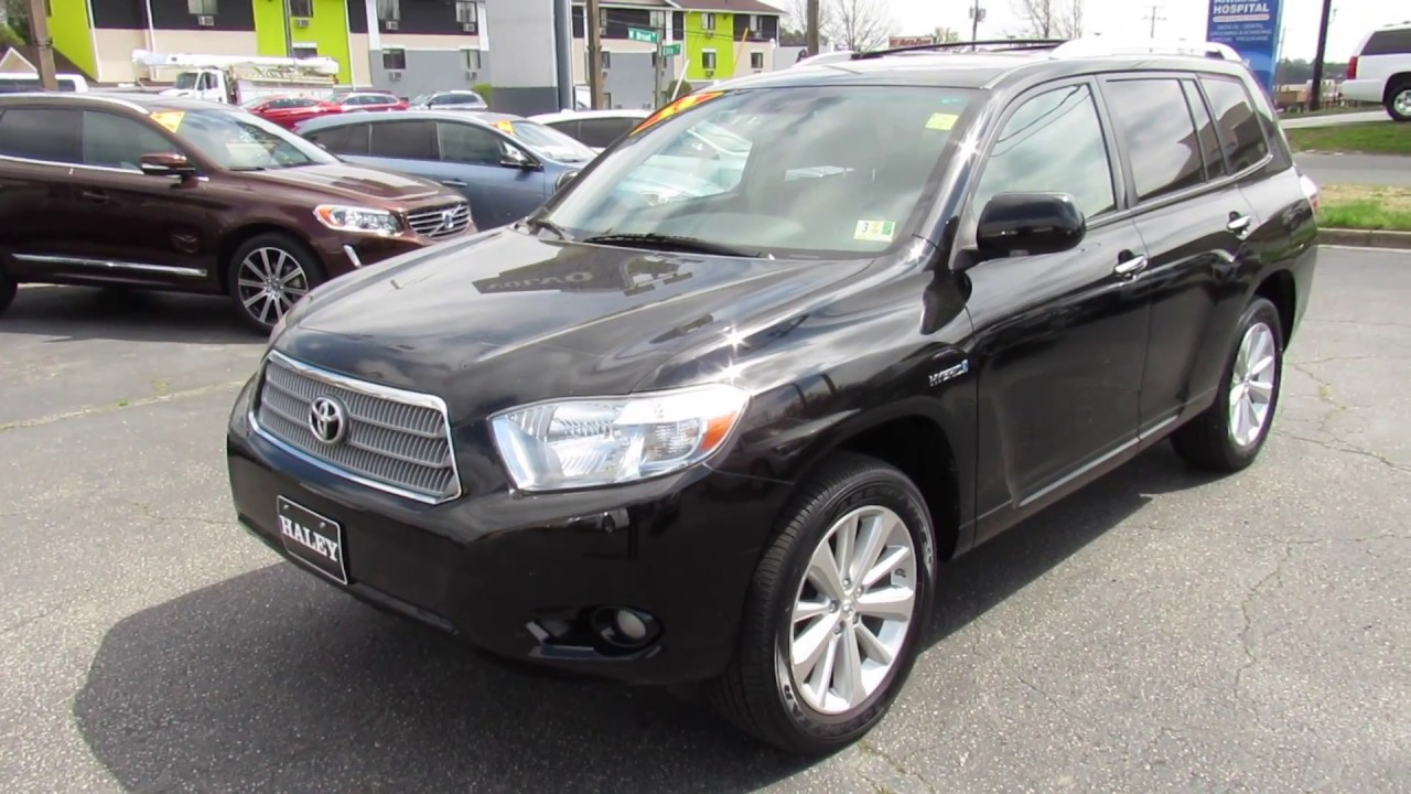 2010 Toyota Highlander Hybrid Limited For Sale | New ...