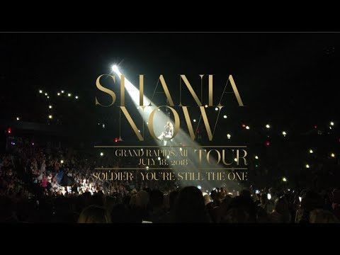 Shania Twain - Soldier   You're Still The One (Grand Rapids)