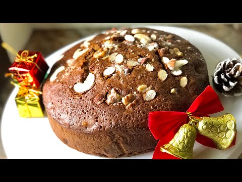 Moist fruit cake recipe quick and easy to make last minute Christmas fruit cake recipe