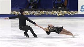 Суй Вэньцзин - Хань Цун. Короткая программа. Пары. NHK Trophy. Гран-при по фигурному катанию 2019/20
