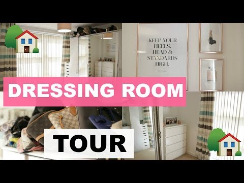 ♡ My New Home: DRESSING ROOM TOUR ♡