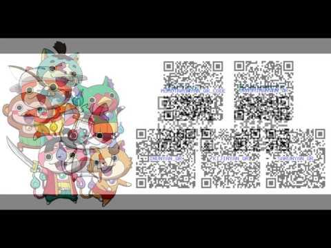 Yo Kai Watch Codes Yokai Watch 2 Qr Codes Essential Qr Codes Watch