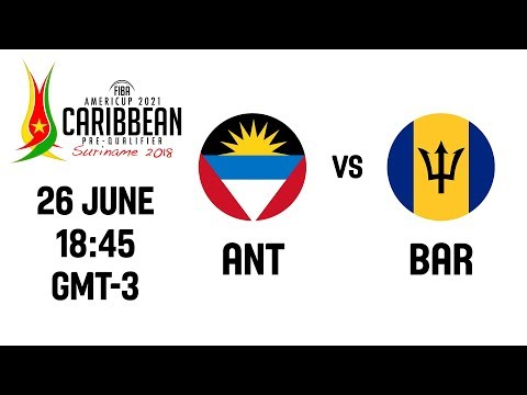 Antigua v Barbados - Full Game - Group Stage - FIBA AmeriCup 2021 Pre-Qualifiers