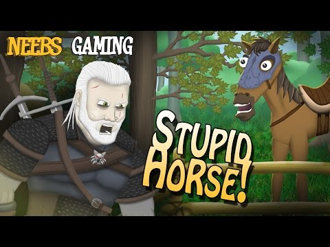 The Witcher 3: STUPID HORSE! A Neebs Gaming Original Cartoon