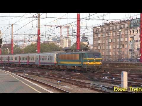 HLE 27 15 met M4 komt aan in Brussel Zuid