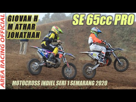 🔴 Motocross INDIEL SERIES 2020 Giovan H 610, M Athar Alghifari 23, Desmont Jhonatan 99 - Semarang