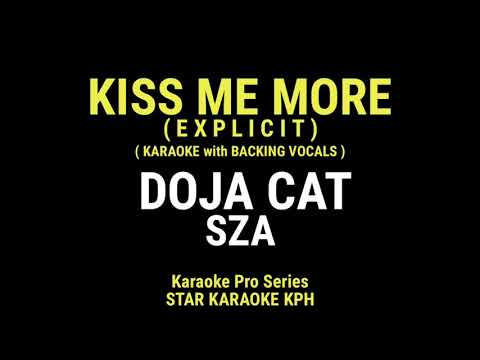 Doja Cat and Sza – Kiss Me More ( KARAOKE with BACKING VOCALS )