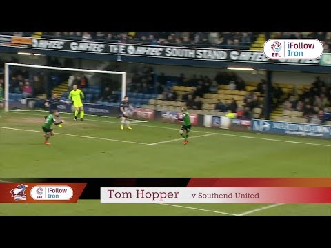 ⚽ GOAL! Tom Hopper v Southend United