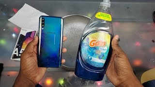 Galaxy A50 20 Minute Soap & Water Test | Can This $350 Phone Survive?
