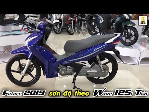 Future 125 2019 sơn độ theo phong cách Wave 125i Thái CỰC ĐẸP ▶️ Honda Hồng Đức 6 🔴 TOP 5 ĐAM MÊ