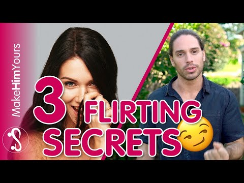 3 Ways To Flirt With A Guy | Surprising Flirting Secrets